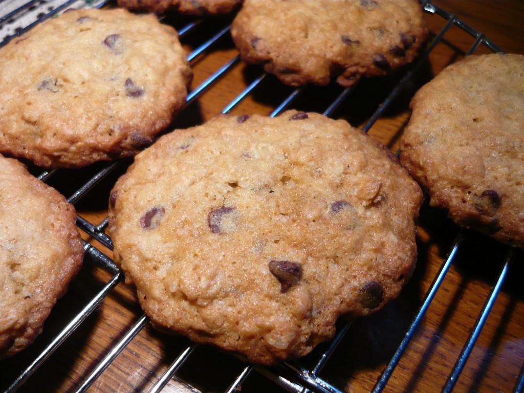 cookies avena e cioccolato 2