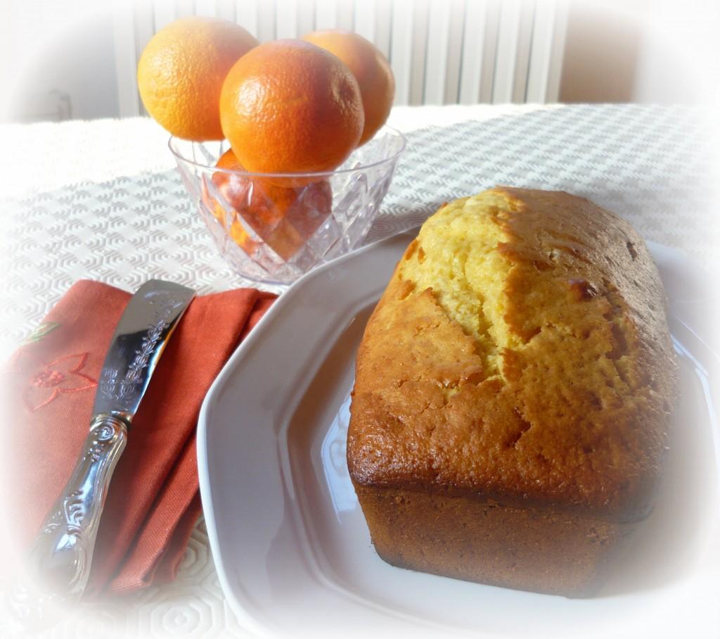 plumcake arancia e yogurt 2