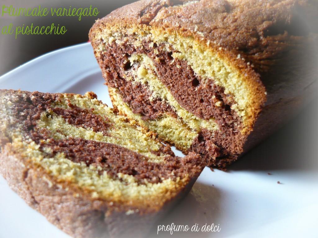 plumcake variegato al pistacchio