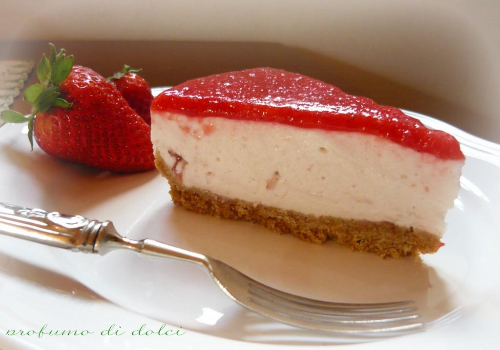 torta fredda ogurt fragole 4