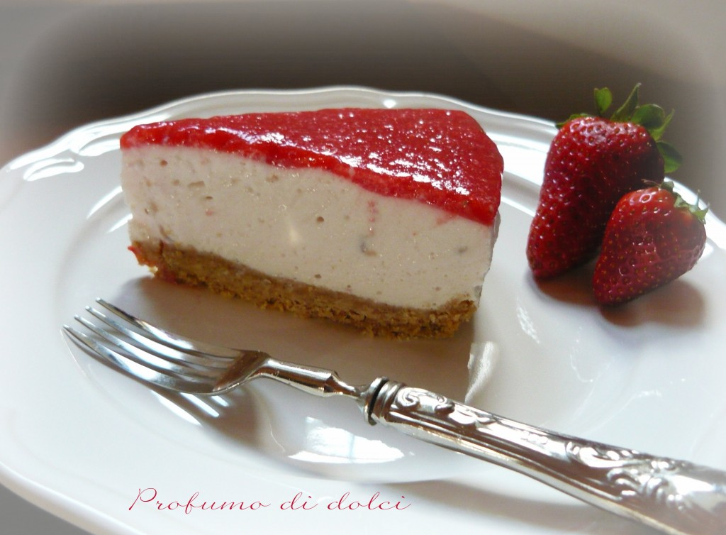 torta fredda yogurt fragole
