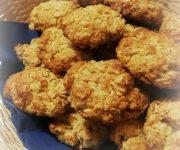Biscotti morbidi ai fiocchi d'avena e cocco