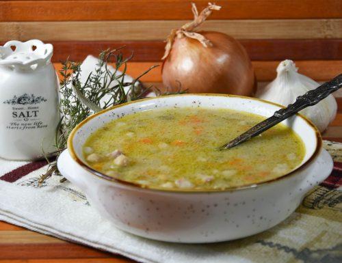 Zuppa con ceci e lenticchie