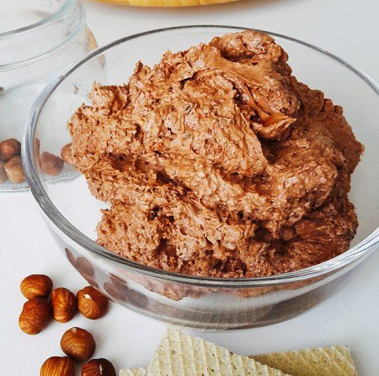 CREMA ROCHER, con Nutella e nocciole