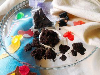 carbone della befana di cioccolato