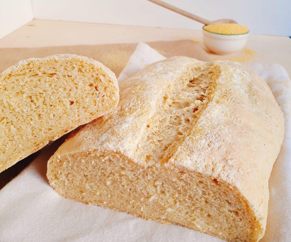 pane con fioretto di mais