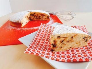 torta con mascarpone e gocce di cioccolato