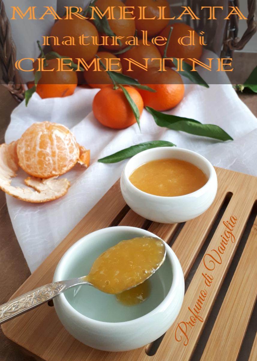 marmellata naturale di clementine