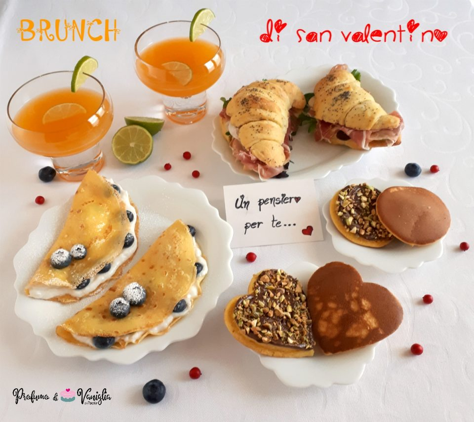 brunch di san valentino