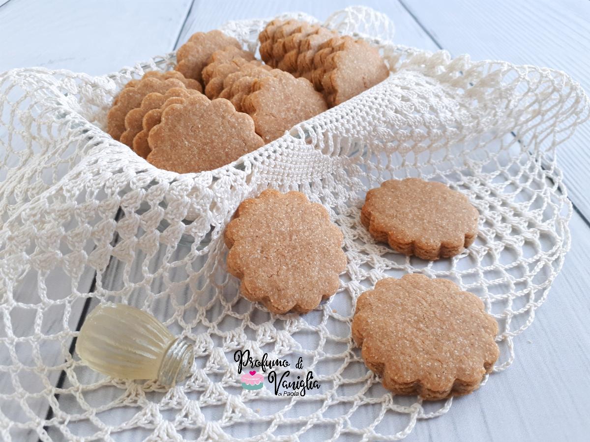 biscotti alle castagne vegani
