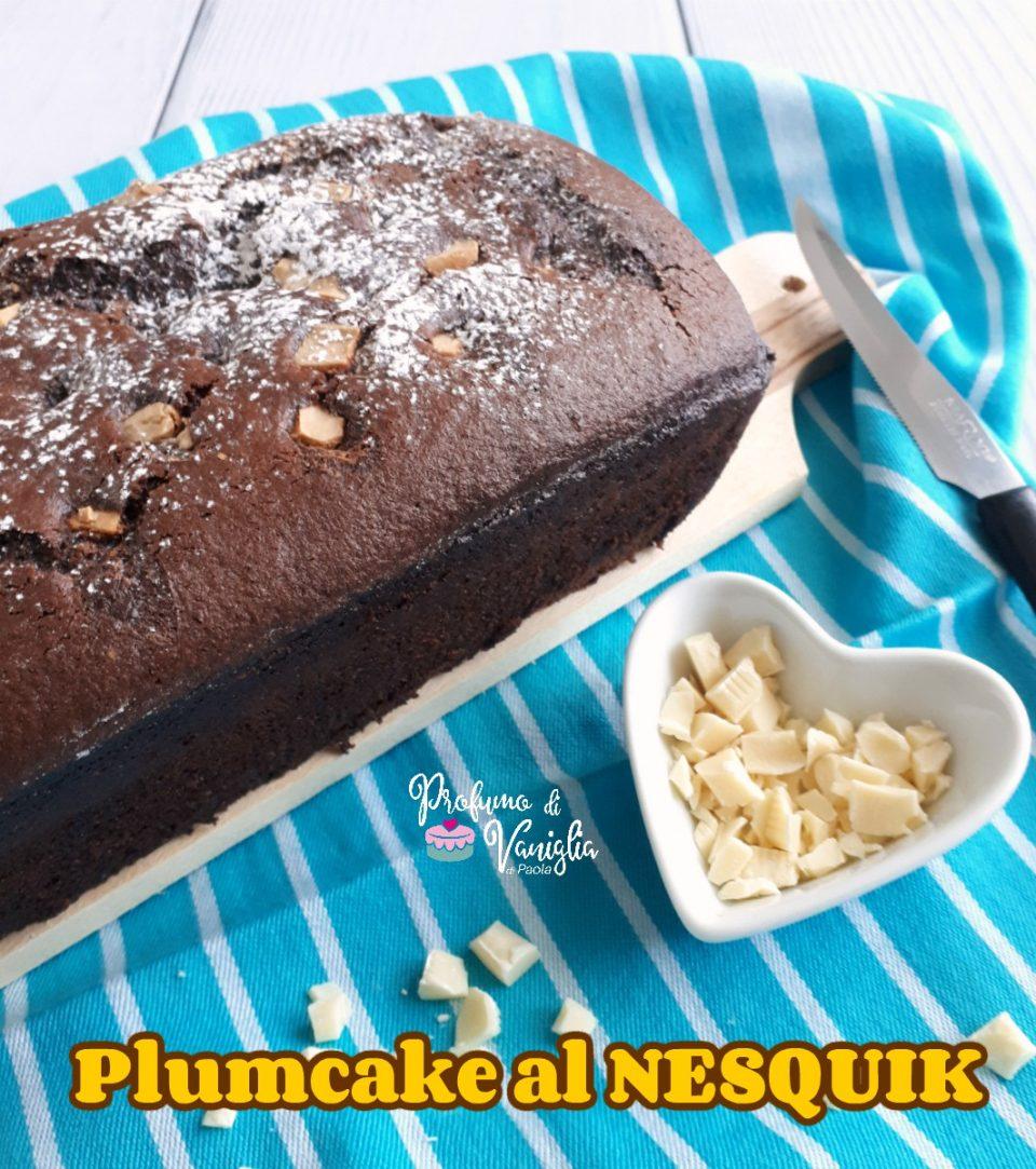 plumcake al nesquik