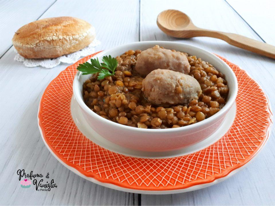 lenticchie rosse con salamino