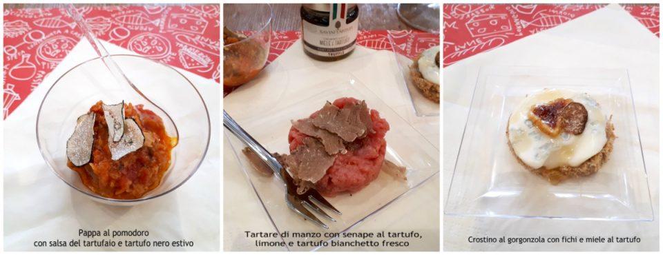 tartufi savini piatti