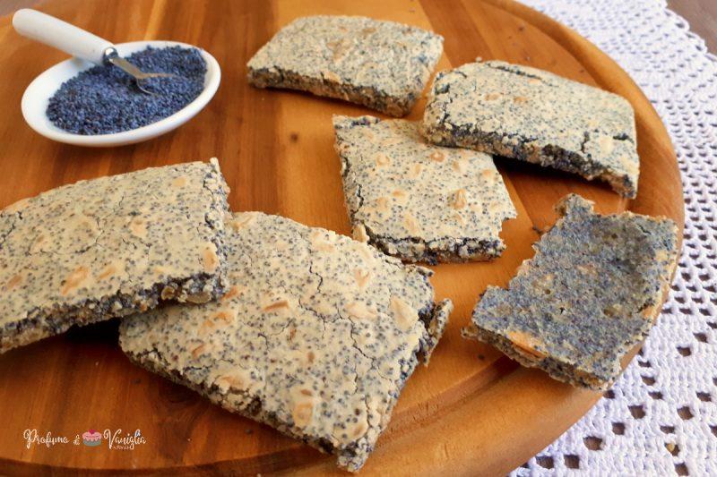 CRACKERS DI SEMI senza glutine e lattosio