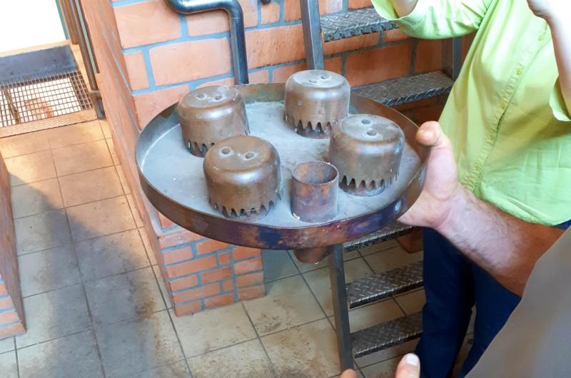 PIATTI per la distillazione della grappa