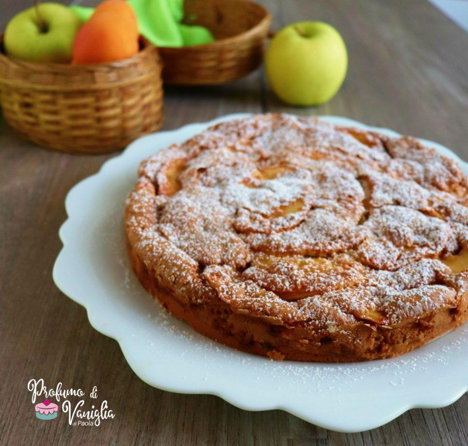 torta albicocche e mele
