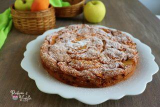 torta mele e albicocche