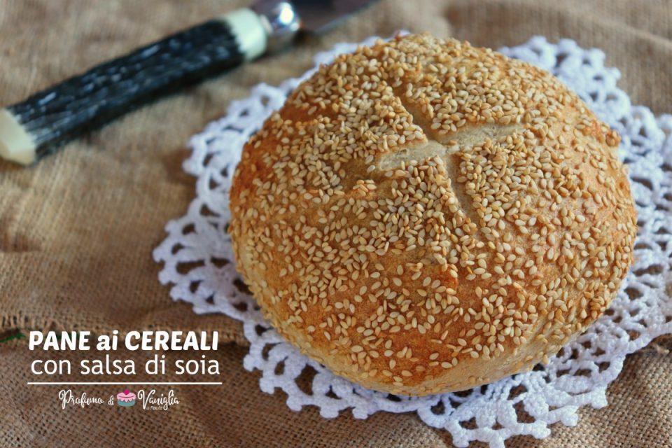 pane ai cereali con salsa di soia