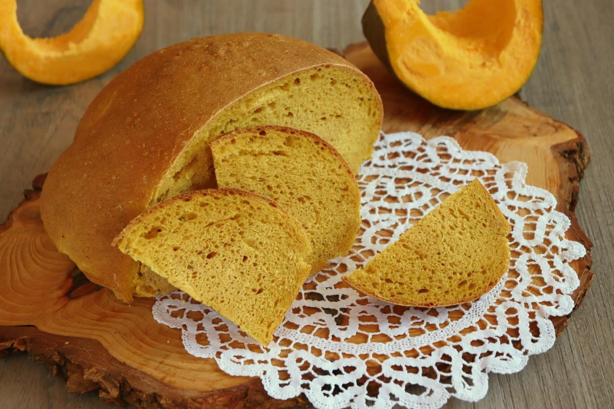 pane alla zucca dolce