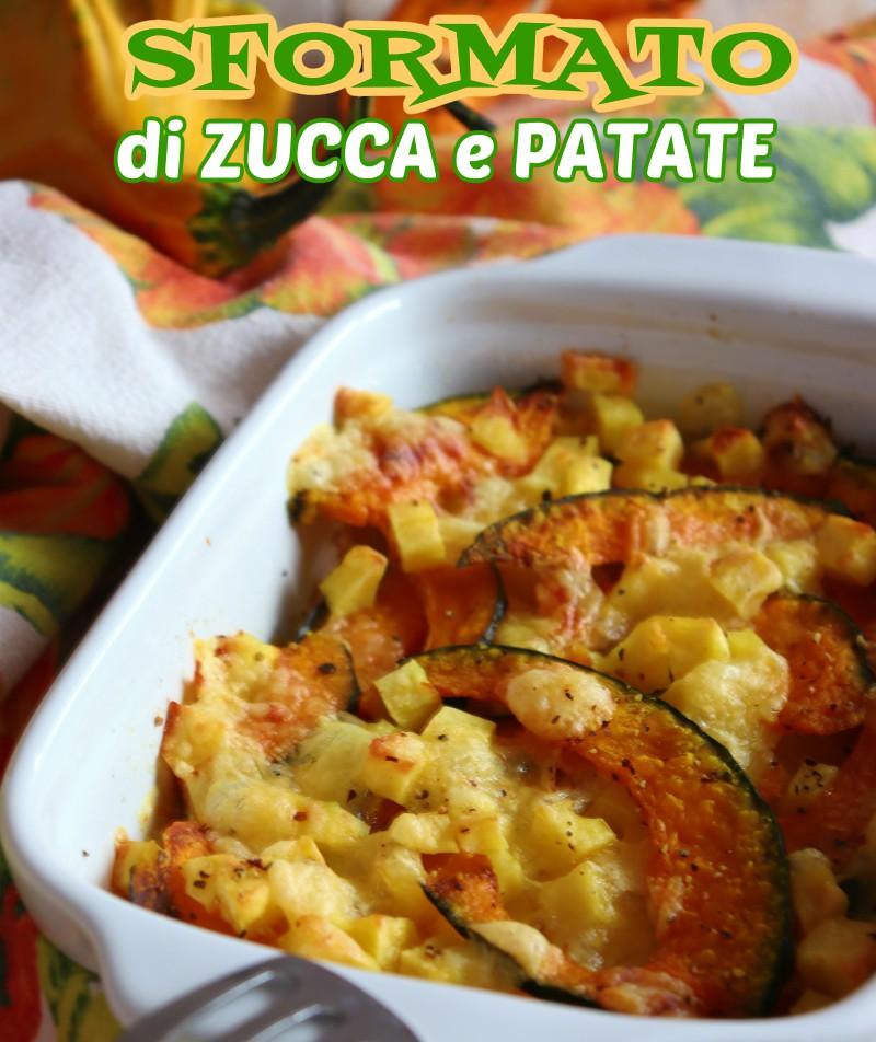 ricetta zucca e patate
