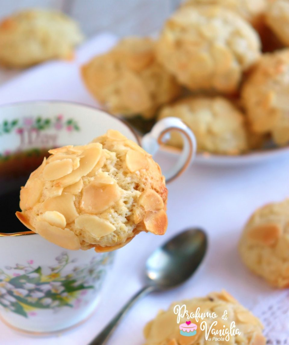 biscotti mandorle e limone