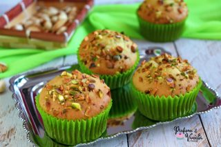 muffin al pistacchio