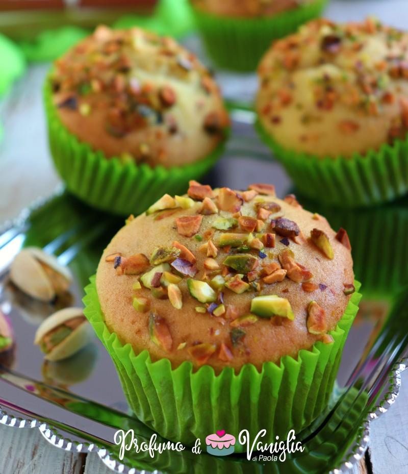 ricetta muffin ai pistacchi