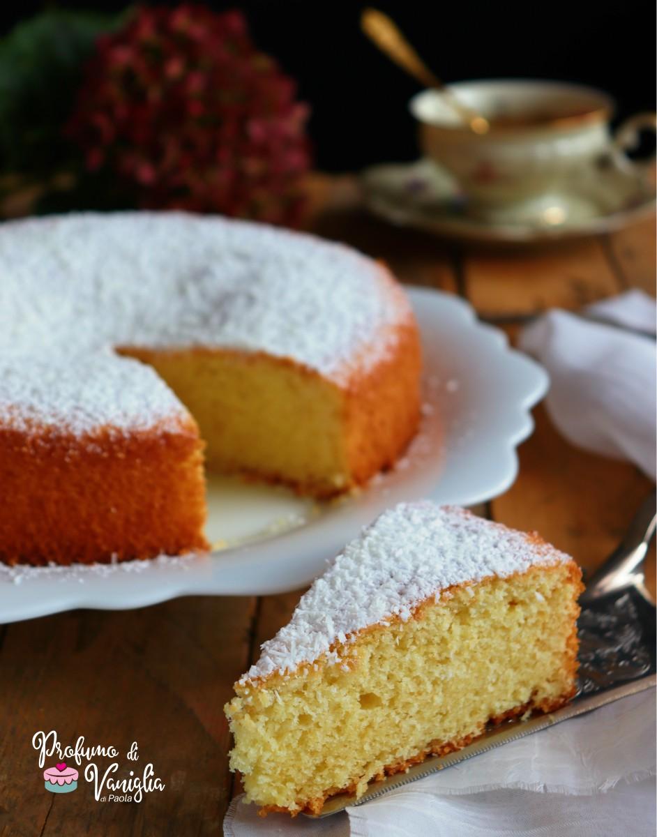 ricetta torta soffice al cocco