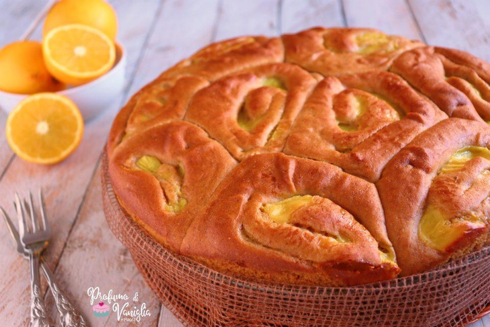 torta di rose alla crema