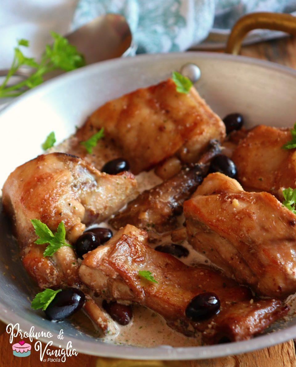 coniglio con olive taggiasche
