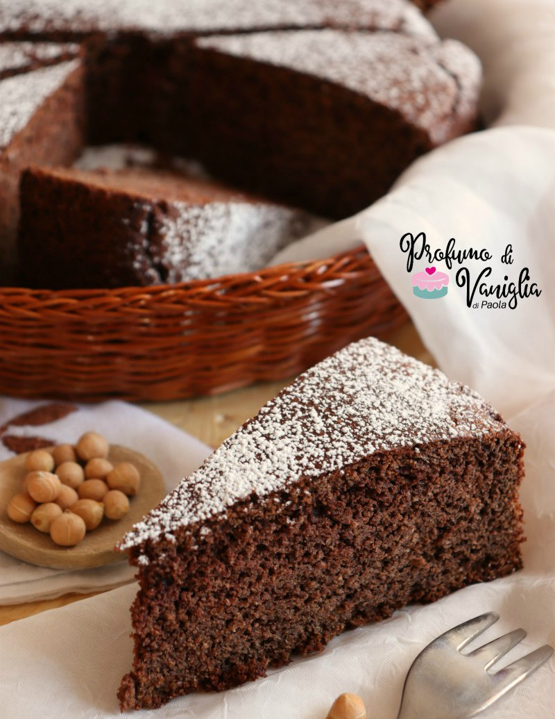 torta ceci e cioccolato