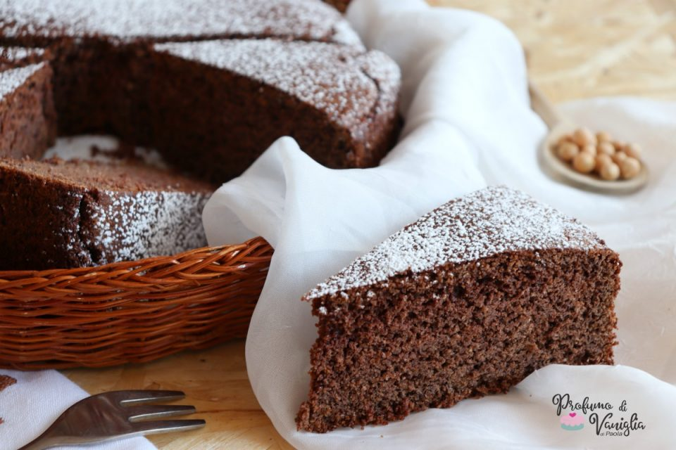 torta dolce di ceci