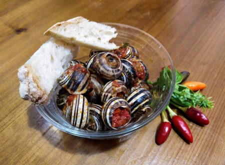 Lumache con sugo di pomodorini freschi