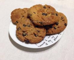 Biscotti al burro di arachidi con gocce di cioccolata senza glutine