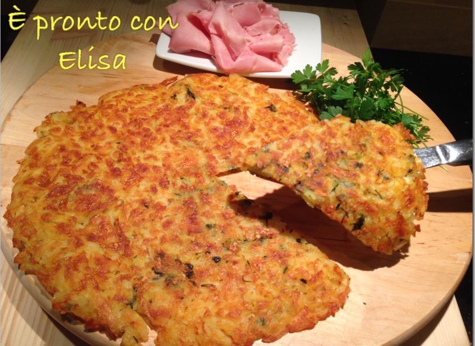 Patate croccanti in scaglie(cotte in padella)