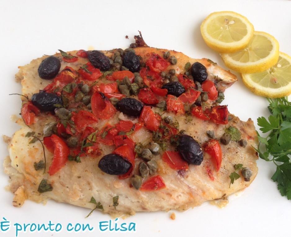 Pesce Persico al forno
