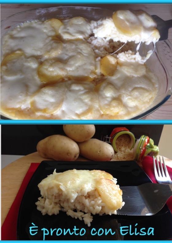 Riso al forno con patate originale