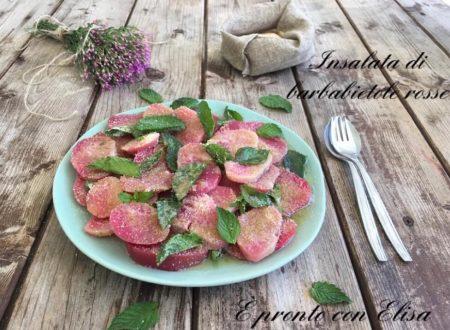 Ricetta insalata di barbabietole rosse