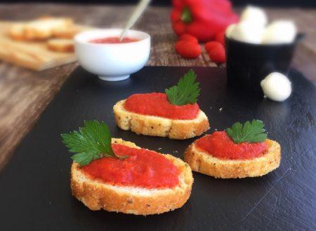 Mostarda di peperoni piccante ricetta semplice