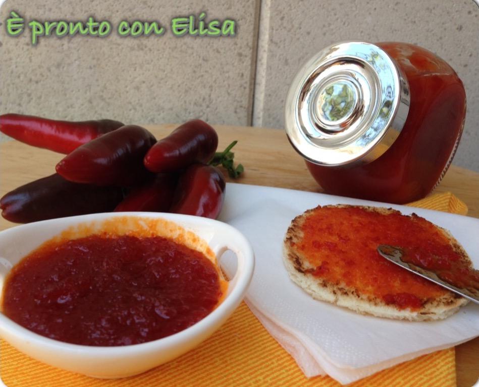Mostarda di peperoni piccante|ricetta semplice
