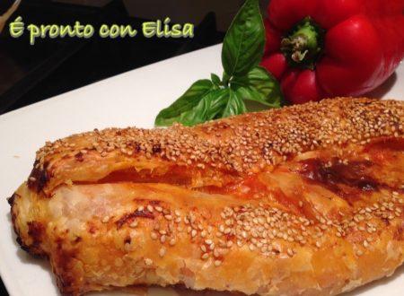 Rotolo di sfoglia salato|ricetta veloce