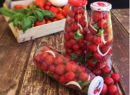Pomodorini al naturale ricetta semplice