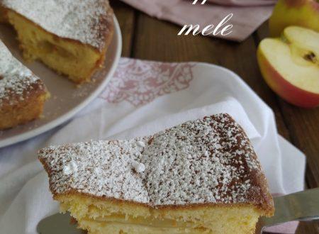 Torta alle mele soffice contiene ricetta Bimby