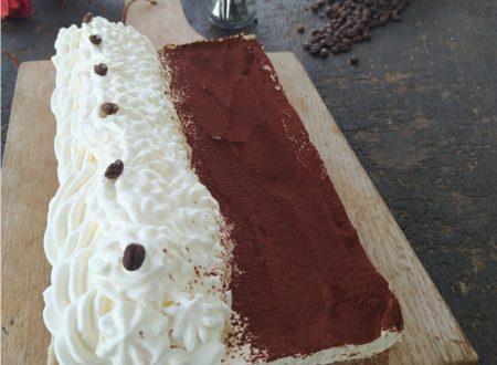 Torta fredda al mascarpone e caffe