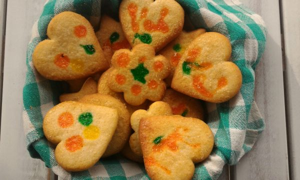 Biscottini colorati