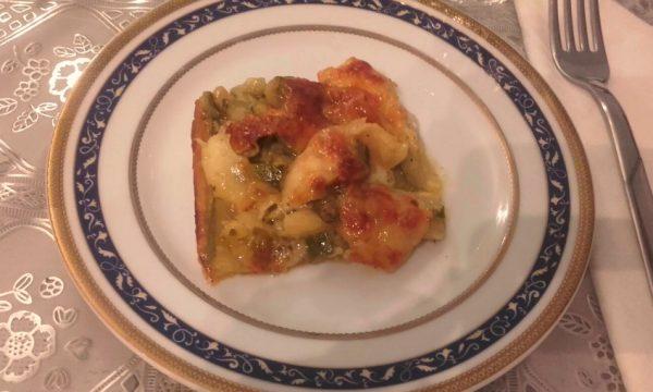 Sfoglia mozzarella e zucchina
