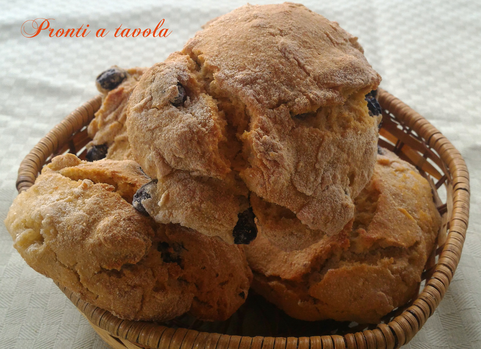 Pane alle olive (pucce)