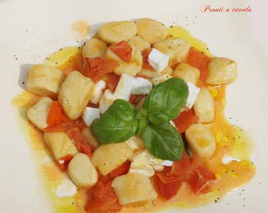 Gnocchi pomodoro basilico e...fantasia