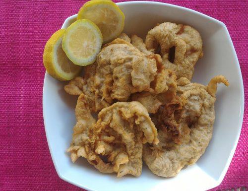 Frittelle di gamberetti e calamaro