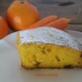 Torta di carote e arance